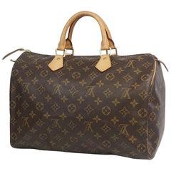 LOUIS VUITTON Speedy 35 Womens handbag M41524