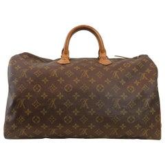 Louis Vuitton Speedy 40 Monogram Canvas Handbag, France 1980.