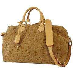 LOUIS VUITTON Speedy bandouliere 35 Womens handbag M40830 Camel