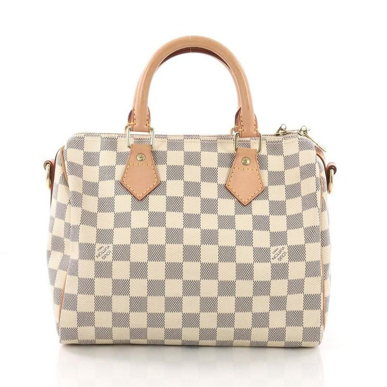 937db8becf08 Louis Vuitton Speedy Bandouliere Bag Damier 25 In Good Condition For Sale  In New York