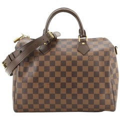 Louis Vuitton Speedy Bandouliere Bag Damier 30