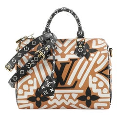 Louis Vuitton Speedy Bandouliere Bag Limited Edition Crafty Monogram Gian