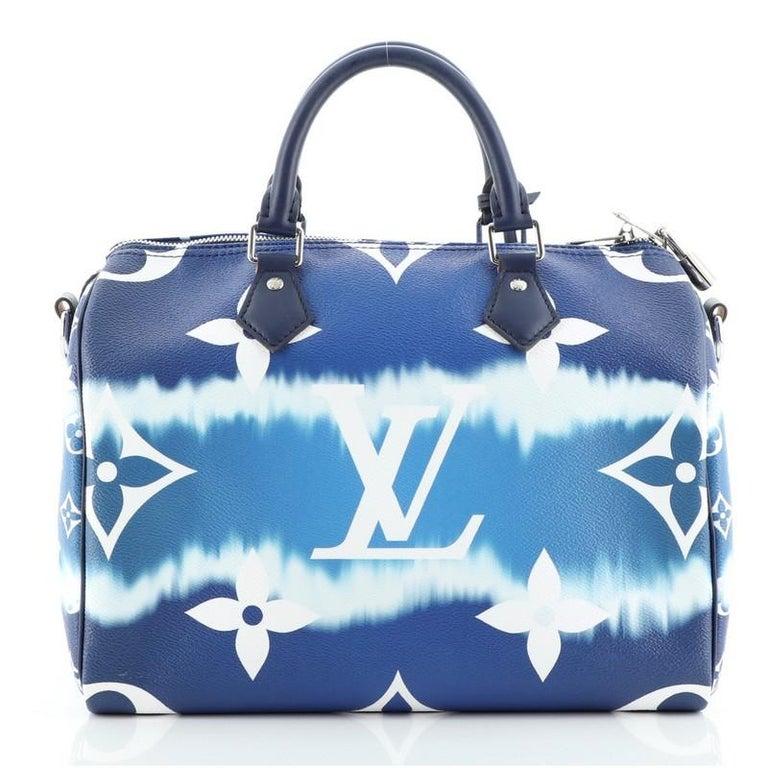 Women's or Men's Louis Vuitton Speedy Bandouliere Bag Limited Edition Escale Monogram Gian For Sale