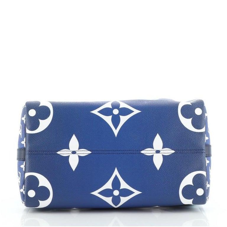 Louis Vuitton Speedy Bandouliere Bag Limited Edition Escale Monogram Gian For Sale 1