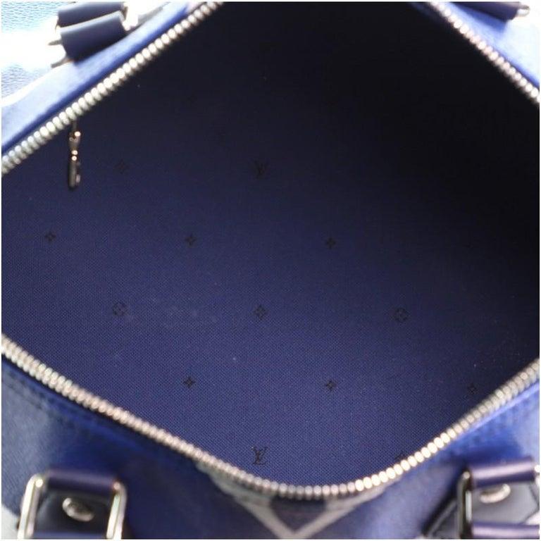 Louis Vuitton Speedy Bandouliere Bag Limited Edition Escale Monogram Gian For Sale 2