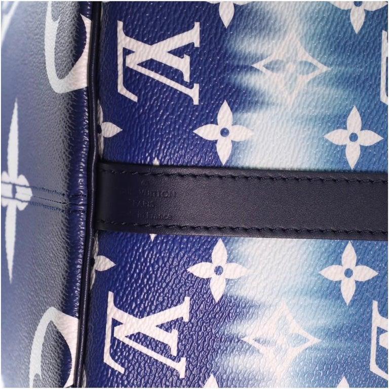Louis Vuitton Speedy Bandouliere Bag Limited Edition Escale Monogram Gian For Sale 3