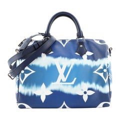 Louis Vuitton Speedy Bandouliere Bag Limited Edition Escale Monogram Gian