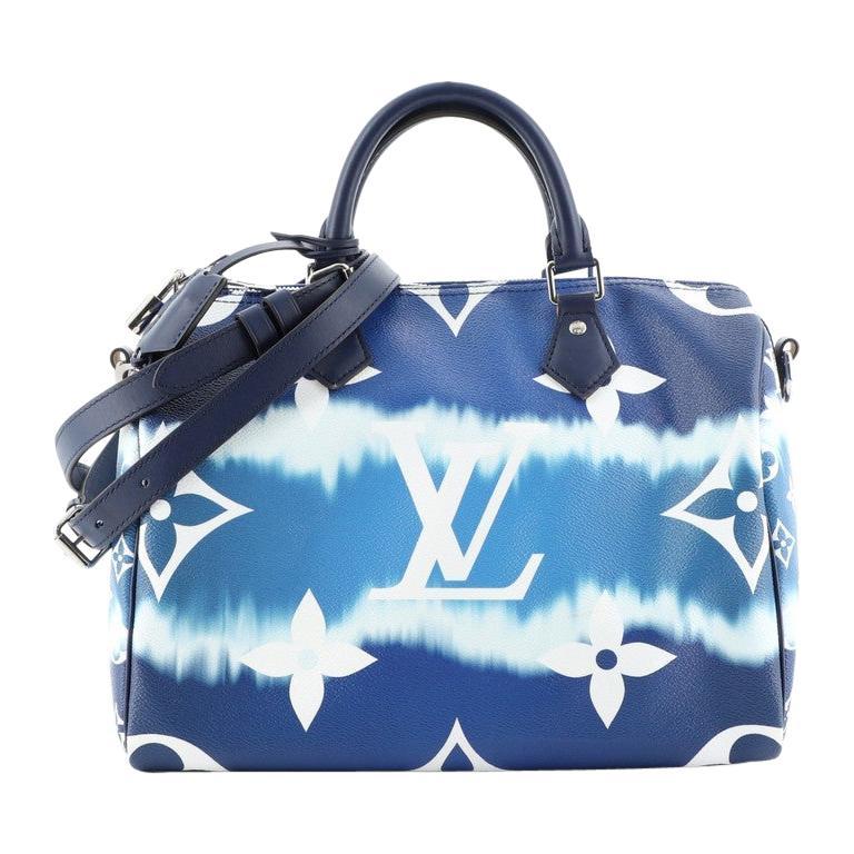 Louis Vuitton Speedy Bandouliere Bag Limited Edition Escale Monogram Gian For Sale