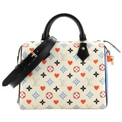 Louis Vuitton Speedy Bandouliere Bag Limited Edition Game On Multicolor Monogram