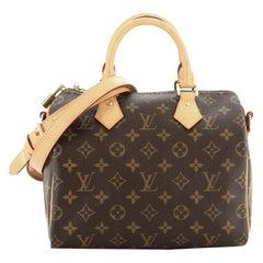 Louis Vuitton Speedy Bandouliere Bag Monogram Canvas 25