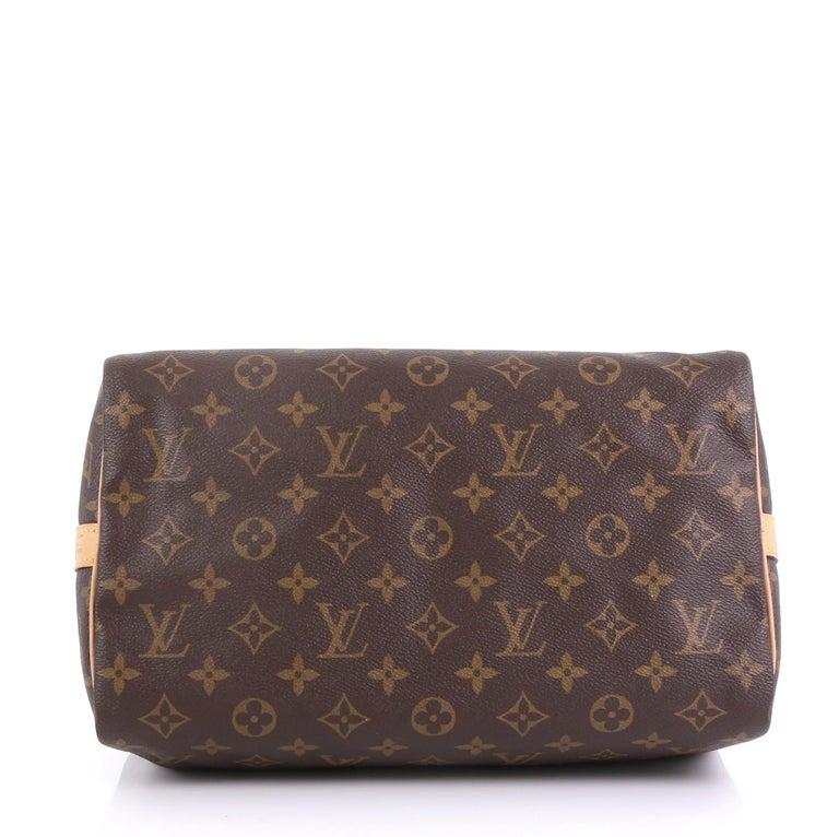 Women's Louis Vuitton Speedy Bandouliere Bag Monogram Canvas 30