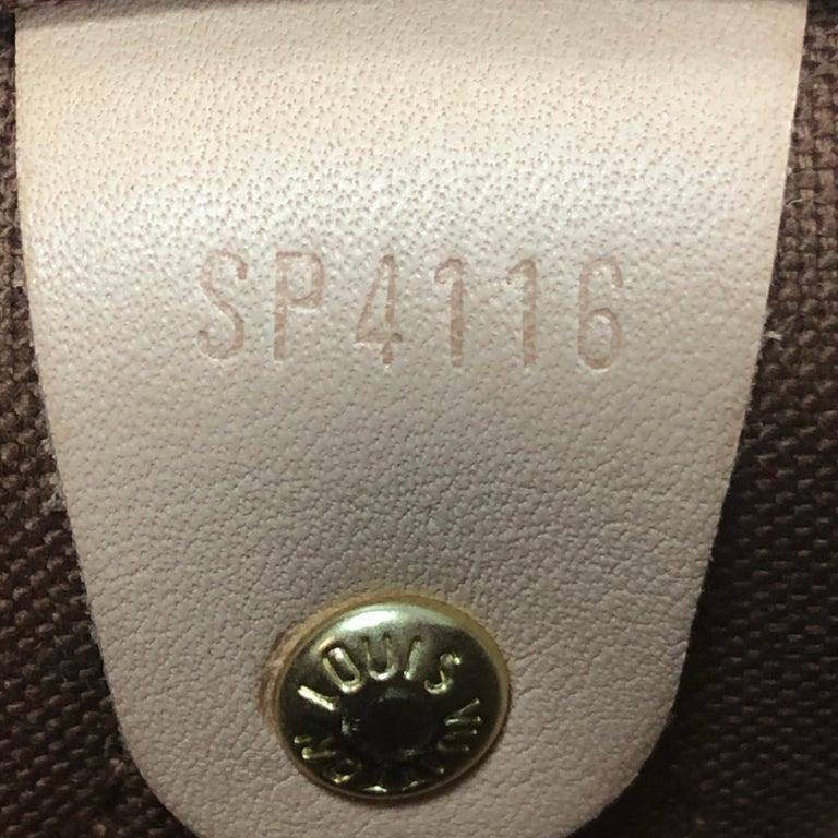 Louis Vuitton Speedy Bandouliere Bag Monogram Canvas 30 2