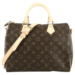 Louis Vuitton Speedy Bandouliere Bag Monogram Canvas 30