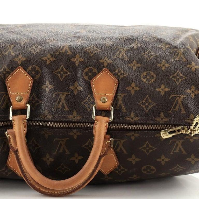 Louis Vuitton Speedy Bandouliere Bag Monogram Canvas 40 For Sale 5
