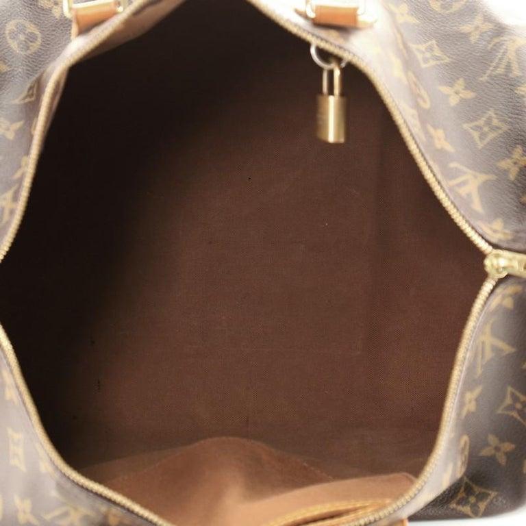 Women's or Men's Louis Vuitton Speedy Bandouliere Bag Monogram Canvas 40 For Sale