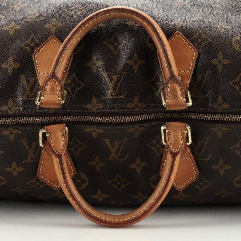Louis Vuitton Speedy Bandouliere Bag Monogram Canvas 40 For Sale 1