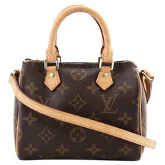 Louis Vuitton Speedy Bandouliere Bag Monogram Canvas Nano