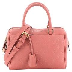 Louis Vuitton Speedy Bandouliere NM Handbag Monogram Empreinte Leather 30
