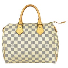 Louis Vuitton Speedy Damier Azur 25