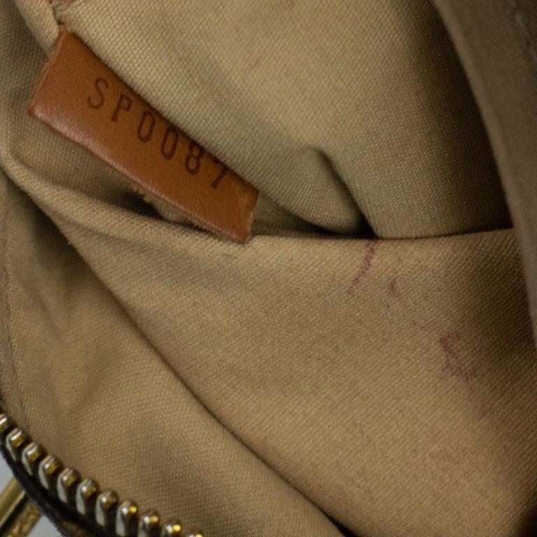 LOUIS VUITTON Speedy Edition Limitee Handbag in Brown Canvas For Sale 2