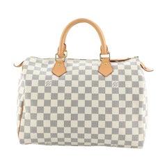 Louis Vuitton Speedy Handbag Damier 30