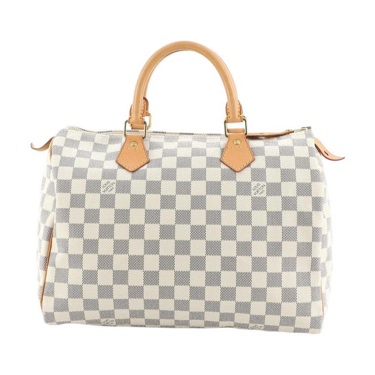 Louis Vuitton Speedy Handbag Damier 30 For Sale