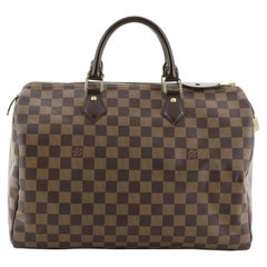 Louis Vuitton Speedy Handbag Damier 35
