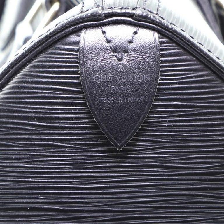 Louis Vuitton Speedy Handbag Epi Leather 25 5