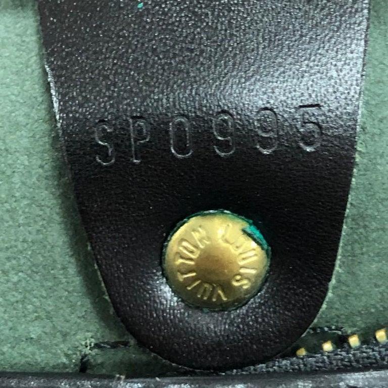 Louis Vuitton Speedy Handbag Epi Leather 25 6