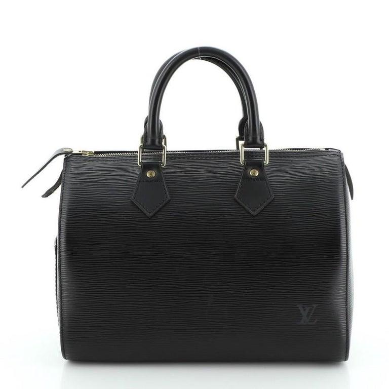 Louis Vuitton Speedy Handbag Epi Leather 25 In Good Condition In New York, NY