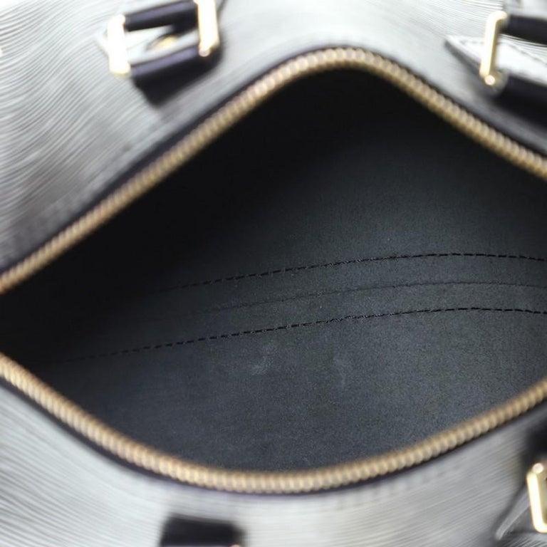 Louis Vuitton Speedy Handbag Epi Leather 25 1