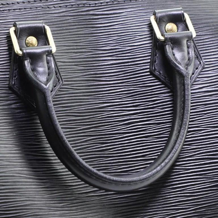 Louis Vuitton Speedy Handbag Epi Leather 25 4