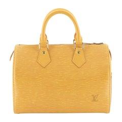 Louis Vuitton Speedy Handbag Epi Leather 25