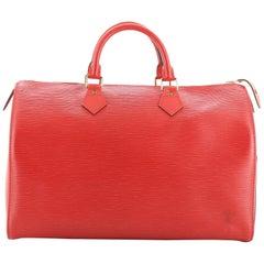 Louis Vuitton Speedy Handbag Epi Leather 40