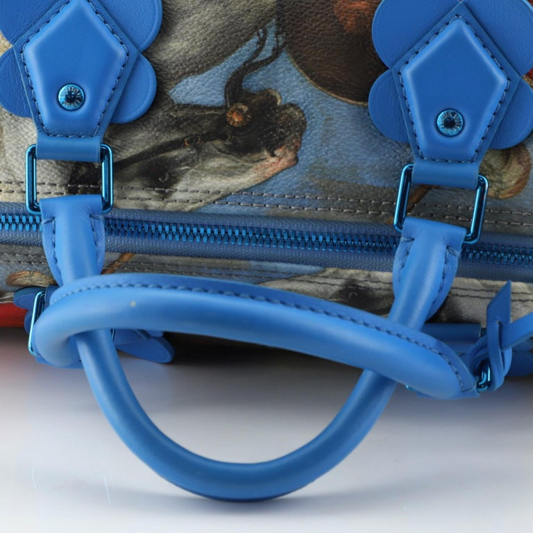 Louis Vuitton Speedy Handbag Limited Edition Jeff Koons Rubens Print Canvas 30 2