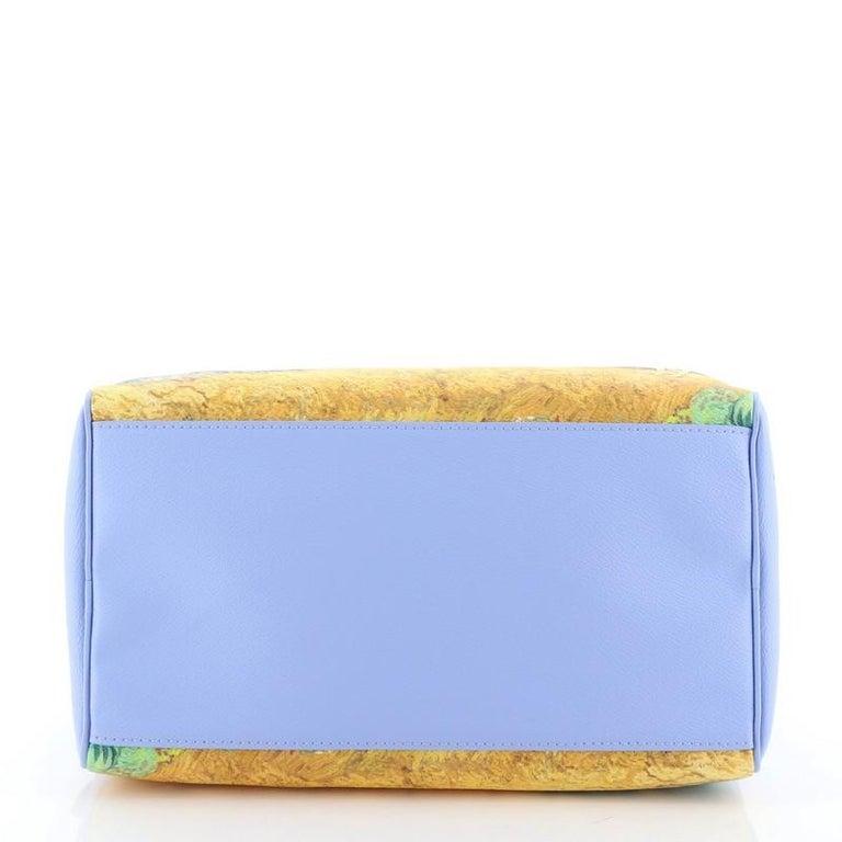 Louis Vuitton Speedy Handbag Limited Edition Jeff Koons Van Gogh Print Ca 1