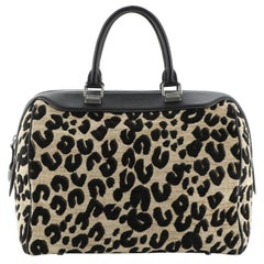 Louis Vuitton Speedy Handbag Limited Edition Stephen Sprouse Leopard Chenille