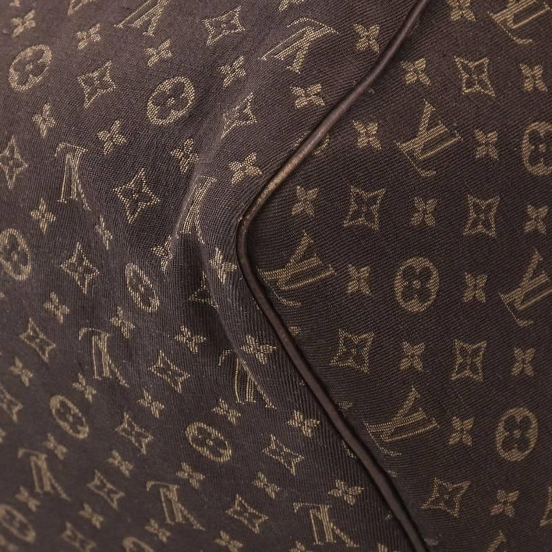 Louis Vuitton Speedy Handbag Mini Lin 30 At 1stdibs Maroon