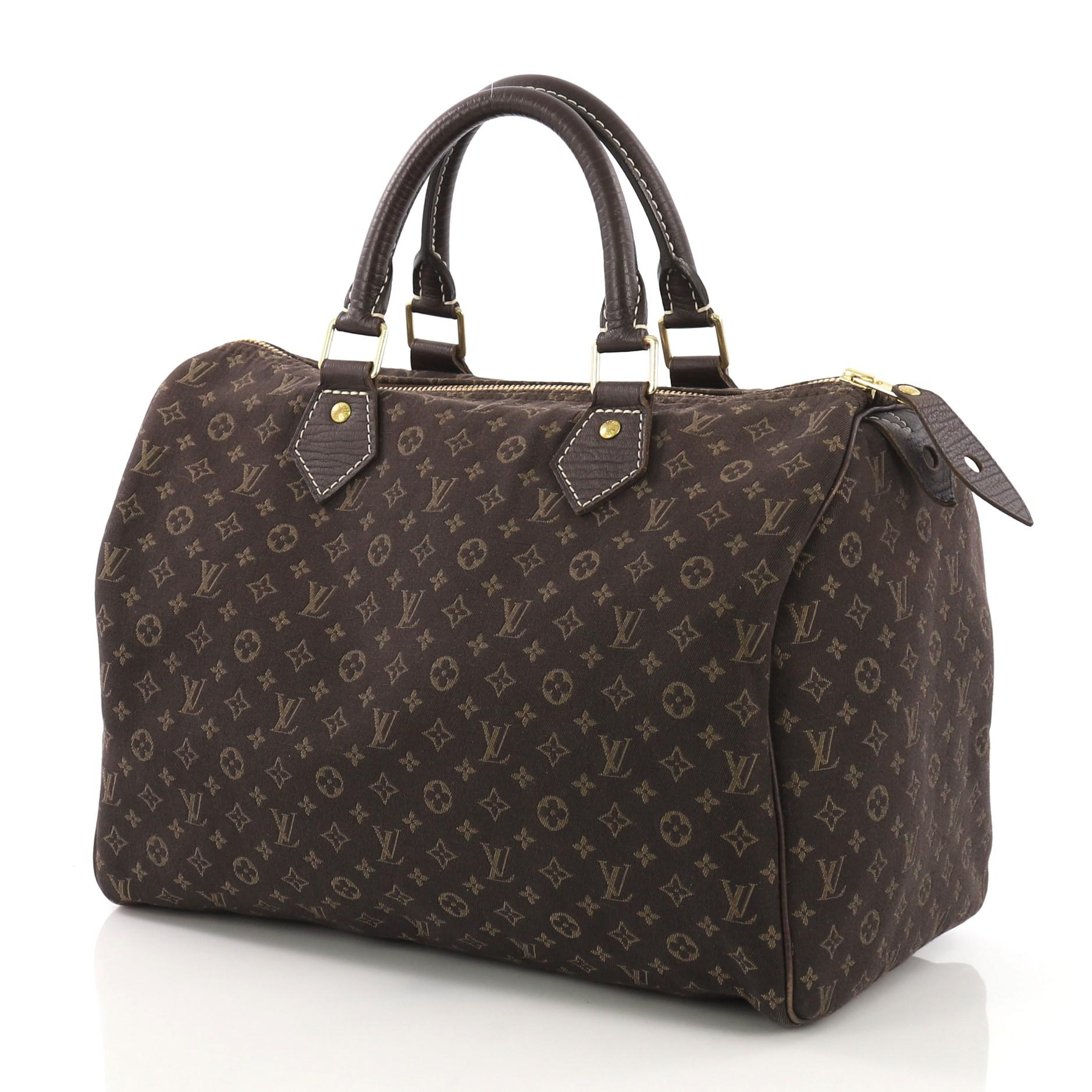 ad6756e6dd2f Louis Vuitton Speedy Handbag Mini Lin 30