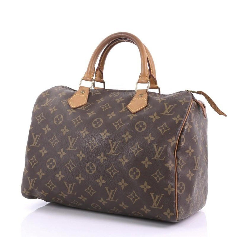 81a259017b01c Louis Vuitton Speedy Handtasche Monogramm Segeltuch 30 bei 1stdibs