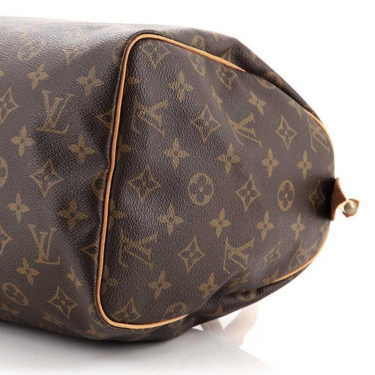 Louis Vuitton  Speedy Handbag Monogram Canvas 30 For Sale 1