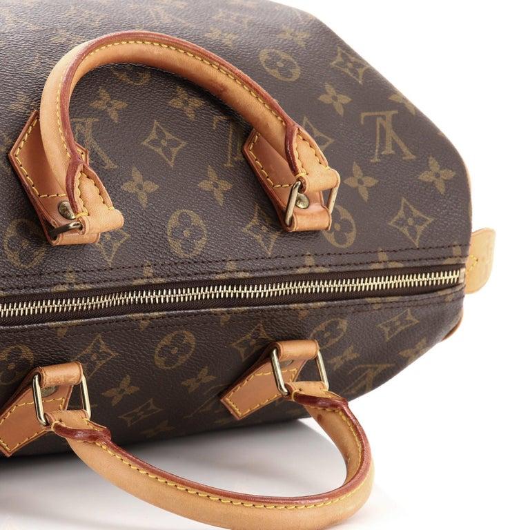 Louis Vuitton  Speedy Handbag Monogram Canvas 30 For Sale 2