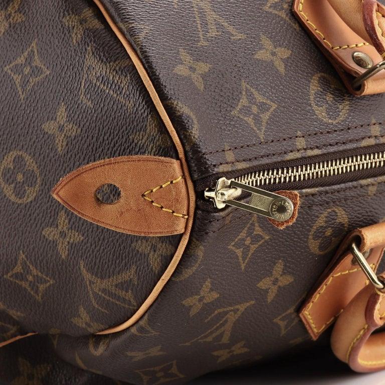 Louis Vuitton  Speedy Handbag Monogram Canvas 30 For Sale 3