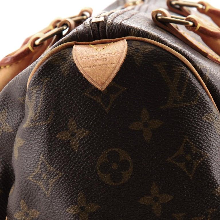 Louis Vuitton  Speedy Handbag Monogram Canvas 30 For Sale 4