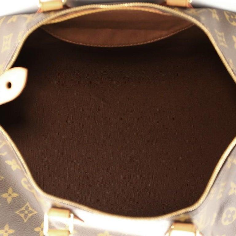 Louis Vuitton Speedy Handbag Monogram Canvas 40 For Sale 2