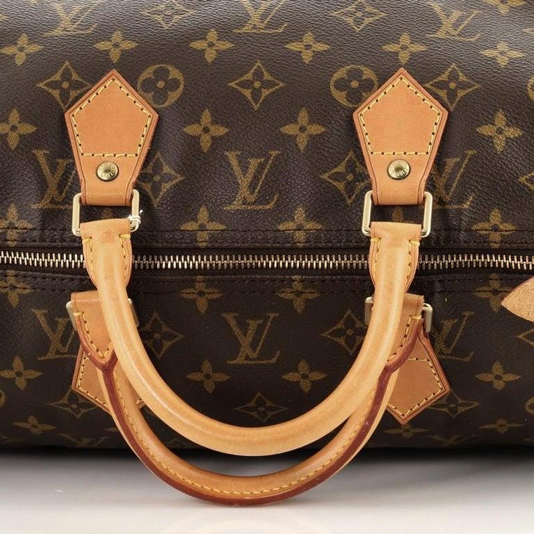Louis Vuitton Speedy Handbag Monogram Canvas 40 For Sale 4