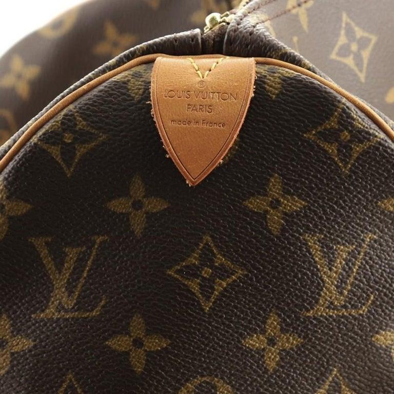 Louis Vuitton Speedy Handbag Monogram Canvas 40 For Sale 5