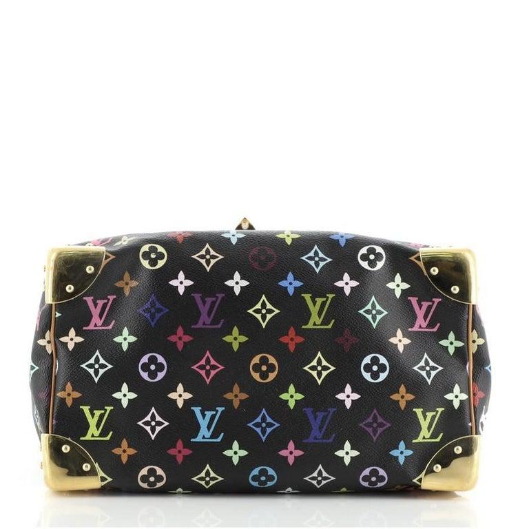 Louis Vuitton Speedy Handbag Monogram Multicolor 30 For Sale 1