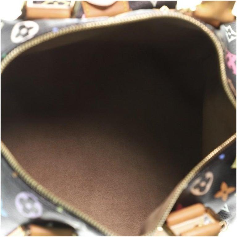 Louis Vuitton Speedy Handbag Monogram Multicolor 30 For Sale 2
