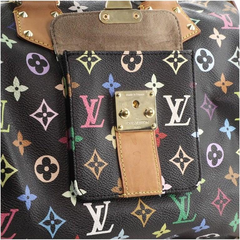 Louis Vuitton Speedy Handbag Monogram Multicolor 30 For Sale 4